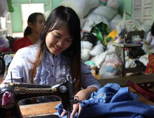 Sewing for Smiles and Security